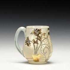 Piece: Living Room Mug Ceramic Teapots, Ceramic Cups, Pottery Mugs, Pottery Ideas, Mug Shots, Tea Mugs, Mug Cup, Tumblers, Drinking