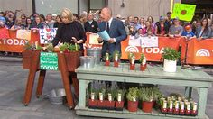 Martha Stewart joined TODAY Tuesday morning to offer a few tips on how to plant your own herb garden — just in time for picnic season.