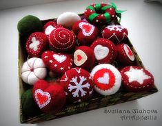 Валяем необычные новогодние игрушки в стиральной машинке - Ярмарка Мастеров - ручная работа, handmade