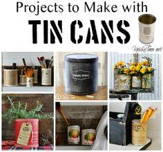 Tin Can Crafts via KnickofTime.net