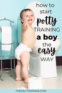 Trying to figure out how to potty train a boy? We've got tips for potty training a boy that you won't read anywhere else at TheSaltyMamas.com. Good Parenting, Parenting Hacks, Potty Training Regression, Potty Training Girls, Mommy Humor, Baby Potty, Working Mom Tips, Toilet Training, Toddler Activities