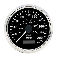 Autool Auto Stainless Waterproof GPS Speedometer 0-200KMH 0-300MPH For Car Motorcycle Truck Vans 85mm 12V/24V. For product info go to:  https://www.caraccessoriesonlinemarket.com/autool-auto-stainless-waterproof-gps-speedometer-0-200kmh-0-300mph-for-car-motorcycle-truck-vans-85mm-12v24v/