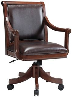 Looking for Hillsdale Palm Springs Caster Chair. Check out our picks for the Hillsdale Palm Springs Caster Chair. Medium Brown Cherry from the popular stores - all in one. Palm Springs, Cherry Games, Brown Leather Chairs, Leather Seats, Hillsdale Furniture, Adjustable Desk, Upholstered Dining Chairs, Desk Chairs, Office Chairs
