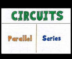 Circuits Notes with doodles - TEACHERS! 5th grade Science, here's a great foldable about circuits. great for students to learn the difference between series and parallel.  science doodles