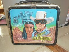 Vintage Lone Ranger Lunch Box by BeadDivaBoutique on Etsy, $18.00