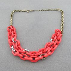 Multilayer chain link necklaces pendants for party