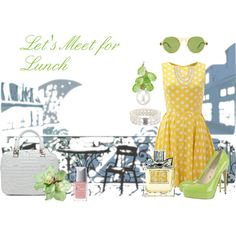 Let's Meet for Lunch, created by susanlavonne on Polyvore
