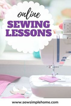 The Sewing Basics for Beginners course will walk you through all the basics of getting started sewing. Diy Sewing Projects, Sewing Projects For Beginners, Sewing Hacks, Sewing Tutorials, Sewing Tips, Sewing Patterns For Kids, Sewing For Kids, Sewing Basics, Basic Sewing