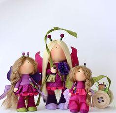 Коллекционные куклы ручной работы. Малиново-ежевичное варенье. milahandycrafts. Ярмарка Мастеров. Тильда, текстильная кукла, подарок ручной работы
