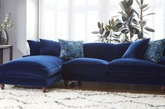 I have not one but two velvet sofas and even with 2 cats and a dog, I'd still choose it again! Here's why you NEED a velvet sofa in 2017.