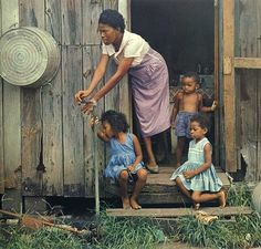 Gordon Parks in Color...remember the wash tub.