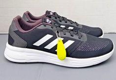 3d0de3c63e3 New Mens Adidas Neo Cloudfoam Revolver Running Shoes Size 12 Black White