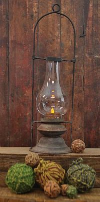 I really like this lantern from saltboxprimitives.com                   ****