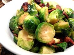 Pan Roasted Brussels Sprouts with Bacon. A good way to turn your family on to Brussels sprouts is to roast them with bacon.