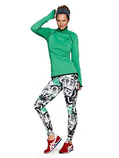 UnderArmour printed tights, $50, ua.com