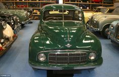 This bottle green Morris Minor forms part of the collection, which boasts cars from every decade since the 1930s and is said to be worth at ...