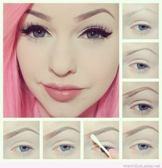 Getting the perfect eye brows tutorial