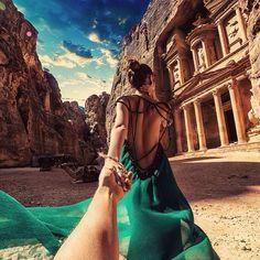 Follow me to Petra, Jordan - Murad Osmann, 2014/08/19, //124.