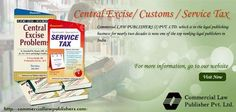 Service Tax Books - Buy Service Tax Books online at Best Prices - India's Largest Books Store - Huge Collection of Books at Commerciallawpublishers.com.