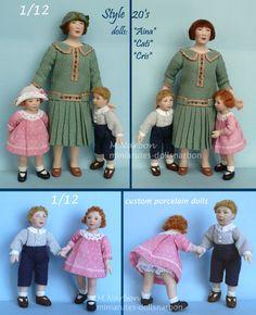 1:12 Dollhouse Doll Dressing Made Easy~Patterns! FRILLS /& FANCY E-ZINE #6 PDF