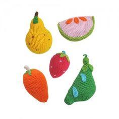 [Rattle Fruit Veggies (set5)]
