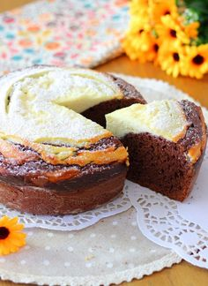Unique Recipes, Sweet Recipes, Cake Recipes, Dessert Recipes, Cake Cookies, Cupcake Cakes, Italian Biscuits, Plum Cake, Breakfast Cake