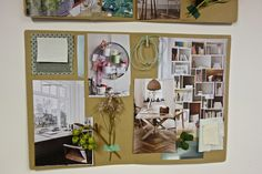 A home office and workshop atelier. Inspiration by Sonsoles from @monpetitindi | Eclectic Trends Moodboarding Workshops
