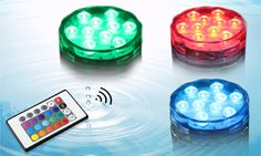 2016 Party Decoration Wholesale Colorful Remote Controlled Submersible Led Light, View Remote Controlled Submersible Led Light, GF Product Details from Shenzhen Great-Favonian Electronics Co., Ltd. on Alibaba.com Tina Wu; tina@chinaszshh.com