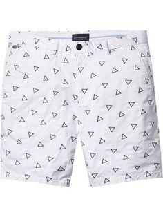 Shop men's shorts styles at Scotch & Soda. Summer Shorts, Swim Shorts, Printed Shorts, Patterned Shorts, Turtle Clothes, Monokini, How To Make Shorts, Bikini, Mens Clothing Styles