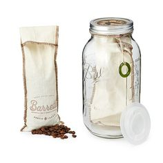 COFFEE COLD BREW GIFT SET.  Great for the coffee loving guy!