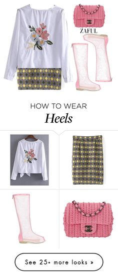 """""""Zaful garden"""" by gabygirafe on Polyvore featuring Chanel and zaful"""