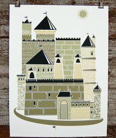 Castle Print | Little Paper Planes