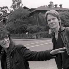 "secretempires: ""Cool Timeless: Patti Smith & Jim Carroll Les deux sont des héros personnels de la mine.  """