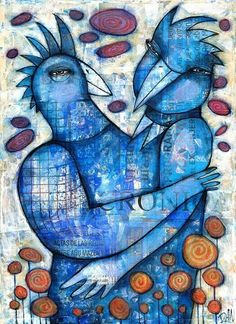 BLUE LOVE by Dan Casado by Dan Casado acrylic and collage on wood Cool Paintings, Original Paintings, Abstract Face Art, Collage Artists, Outsider Art, Medium Art, Art Music, Painting Inspiration, Mixed Media Art