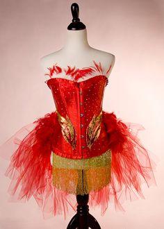 LAST ONE PHOENIX  : Red Ring Master Las Vegas Showgirl by mmegigi