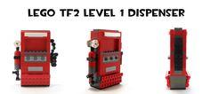 Lego TF2 Level 1 Dispenser by HybridAir