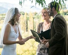 Queenstown marriage ceremony