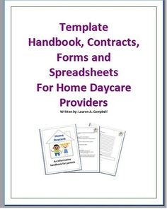 daycare business plans examples
