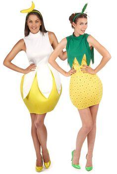 Disfraz de pareja fruta mujer  Disfraz de piña mujer Este disfraz de piña  para mujer 1d7e33b7564