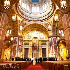 Catholic Ceremony in St. Mattew's Cathedral, in Washington DC