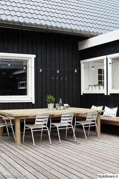 courtyard, terrace, garden furniture, Make yourself - DIY