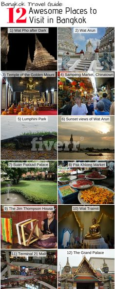 This guide includes the best places to visit in Bangkok, but also the best areas to stay, where to eat how to get around the city and some top tips!