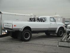 Chevrolet C-60 custom pickup. Heavy duty but I bet it rides like a tank!