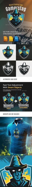 Wizard Gaming Logo - Humans Logo Templates