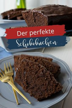 So gelingt dir der perfekte Schokokuchen - mit Eischnee, Mandeln und geschmolzener Schokolade Cupcakes, Dessert, Blog, Molten Chocolate, Sweet Recipes, Almonds, Treats, Simple, Cupcake Cakes