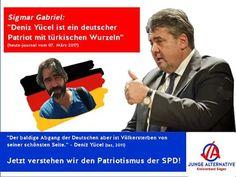 Kann man einen Außenminister Gabriel noch ernst nehmen der im ZDF sagte: Deni...