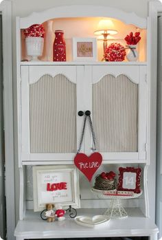 Valentine's Decor.  <3