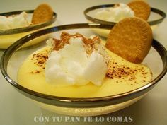 Natillas caseras Mexican Food Recipes, Sweet Recipes, Easy Cooking, Cooking Recipes, Spanish Desserts, Spanish Food, Venezuelan Food, Delicious Desserts, Yummy Food