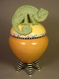 Lisa Scroggins teaches ceramics at Brookfield Craft Center