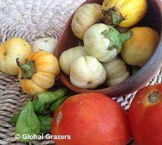 Sauce Aubergine Recipe a la Grand Mère Akouba | Global Grazers